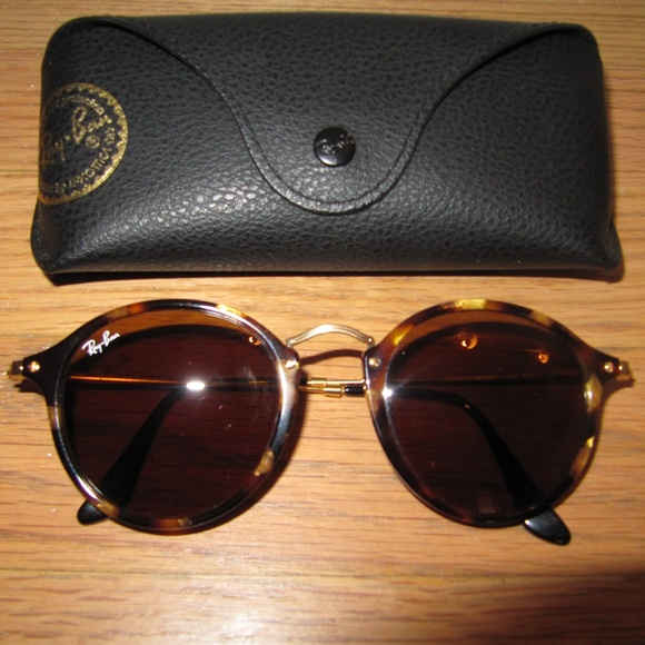 d0a15556b Ray-Ban Accessories   Ray Ban Round Tortoise Gold Brown Havana Frame ...